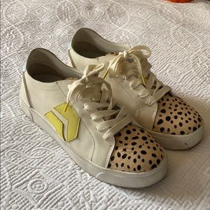 Dolce Vita Distressed Sneakers